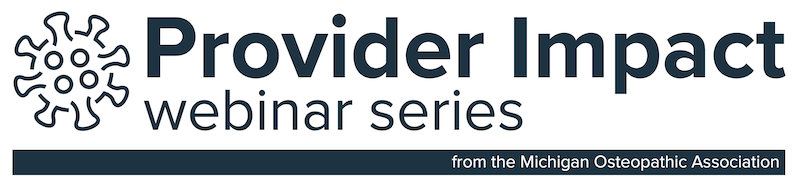 Provider Impact Webinar Series