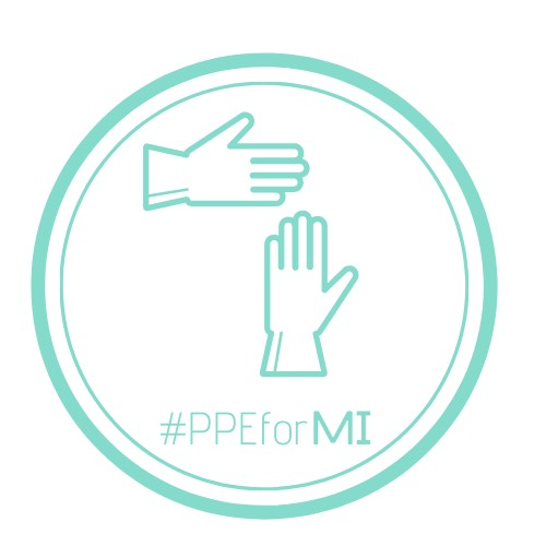 PPEforMI logo