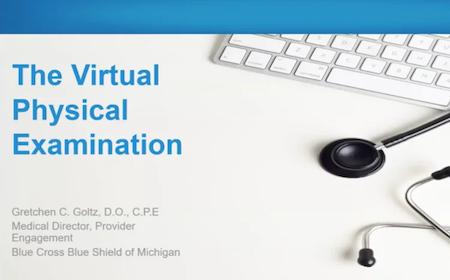 BCBSM Virtual Exam video